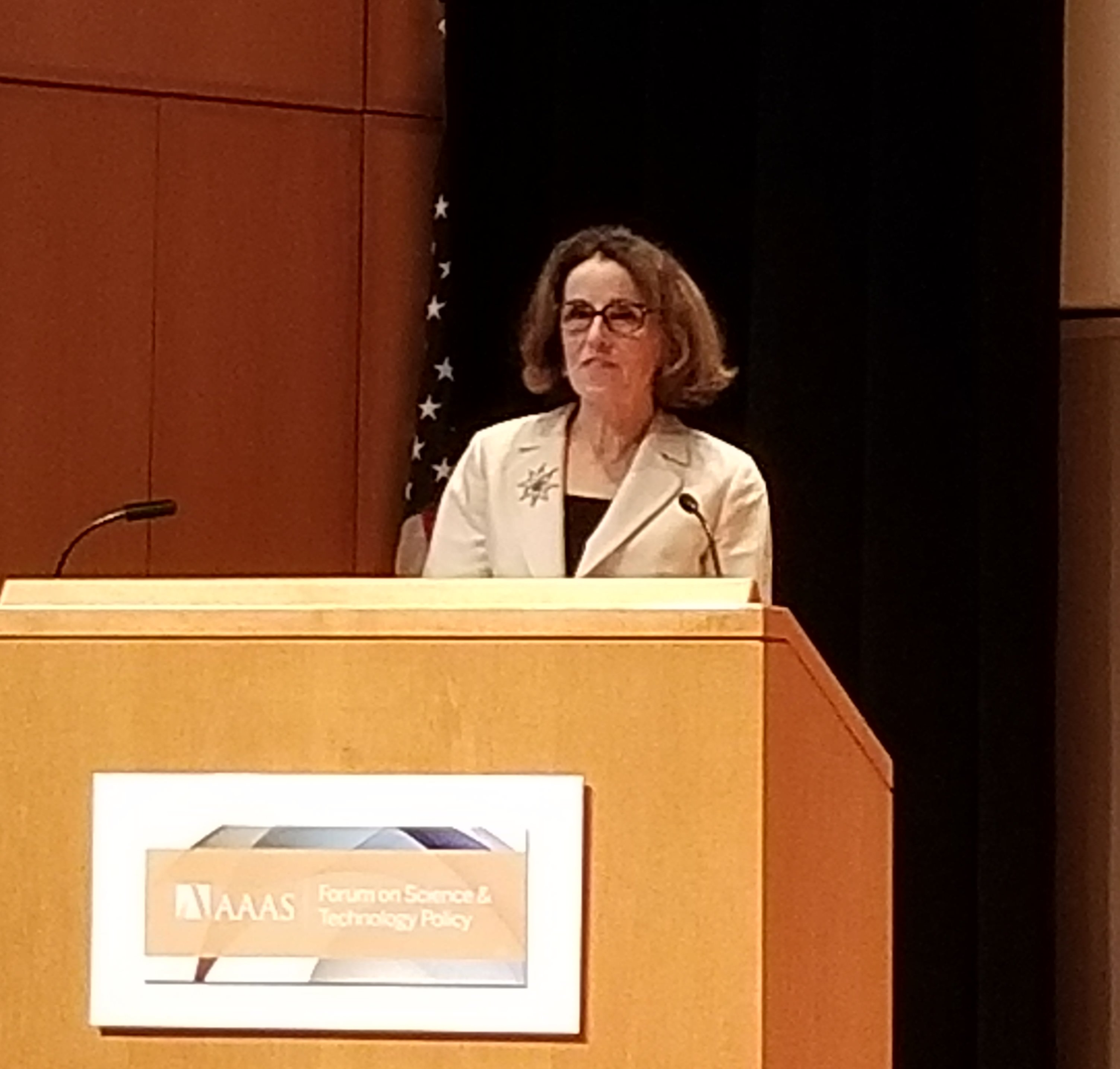 France Cordova, Director, NSF, Addresses the Forum