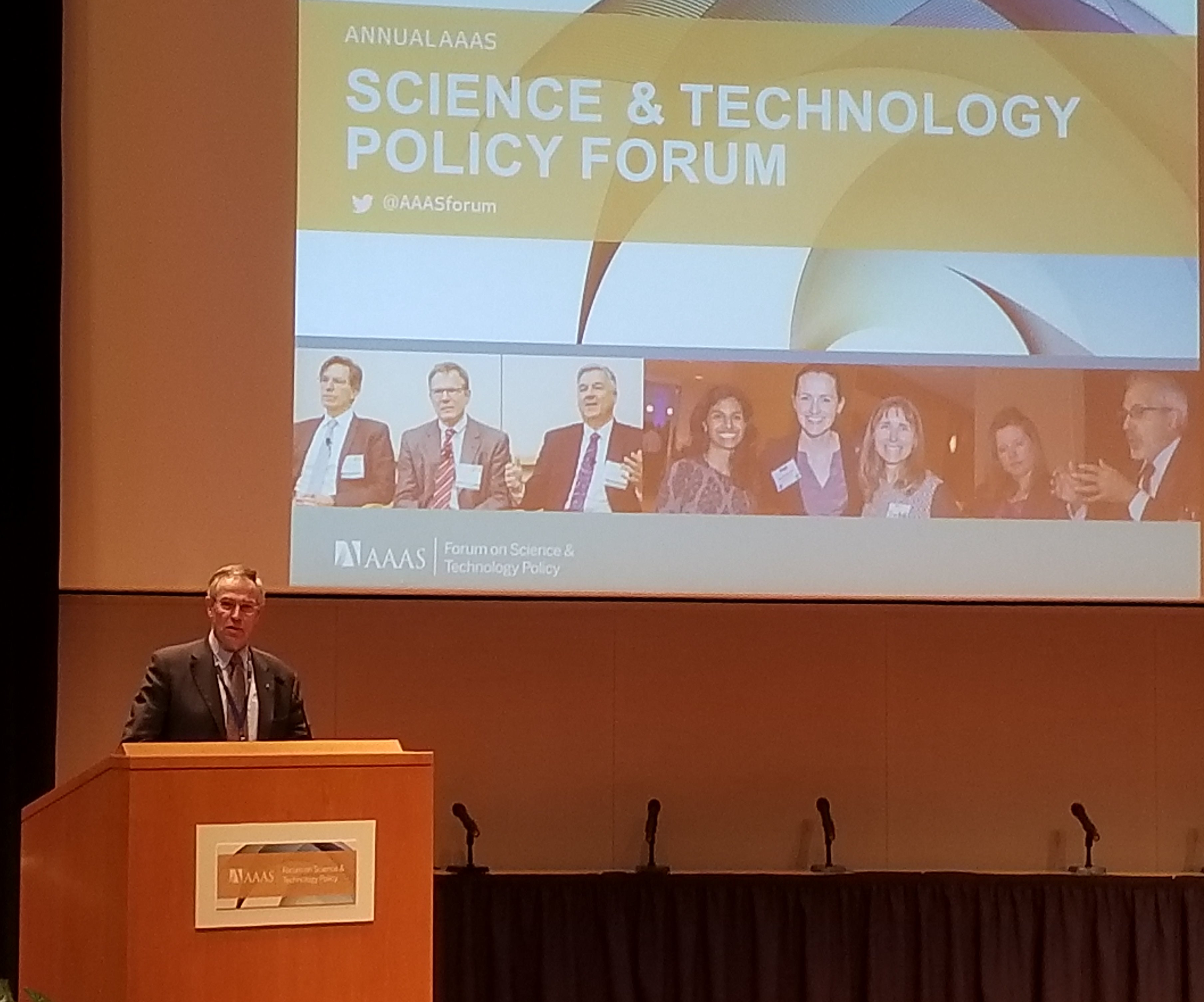 Rush Holt, CEO, AAAS Opens the 43rd Policy Forum