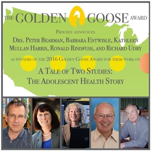 First Golden Goose Award of 2016 Goes to NIH-funded Social Science Researchers