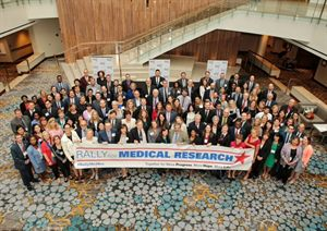 Rallying for Medical Research so that Young Scientists Can Have Research Careers