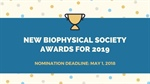 New Biophysical Society Awards