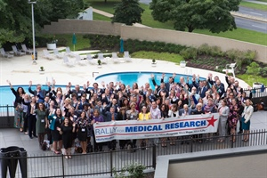 BPS Members Rally for Medical Research; Attend Golden Goose Award