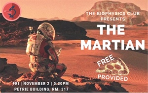 York University BPS Student Chapter Presents: The Martian