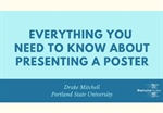 Everything You Need to Know About Presenting a Poster