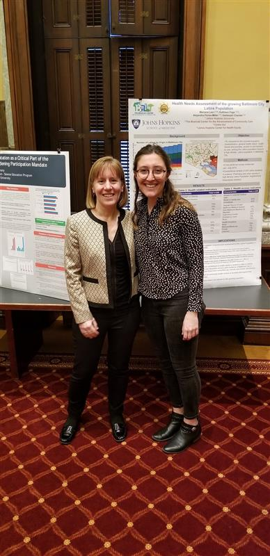 Johns Hopkins Students, Biophysical Society Host Science Poster Night at Baltimore City Hall