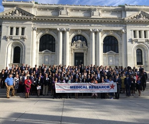 Biophysical Society Joins Rally for Medical Research