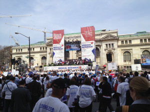 Rally for Medical Research Makes the News