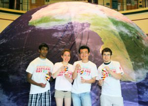 Biomolecular Discovery Dome Debuts New Video at Maryland Day
