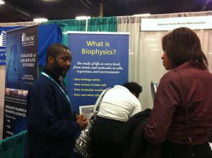 BPS Connects with Minority Undergrads at ABRCMS